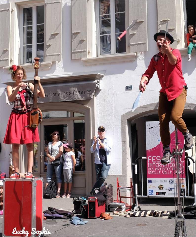 Au Festival international des artistes de rue de Vevey