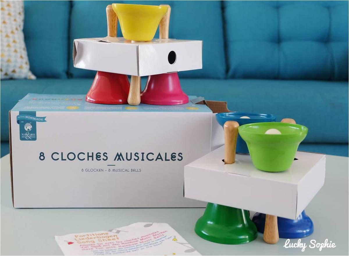 Eveil musical : cloches Montessori
