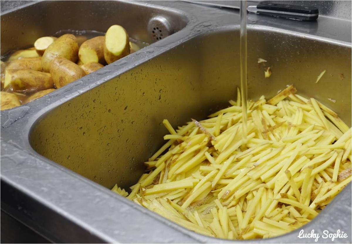 Dingue, mais les frites sont faites sur place à partir de pommes de terre fraîches.