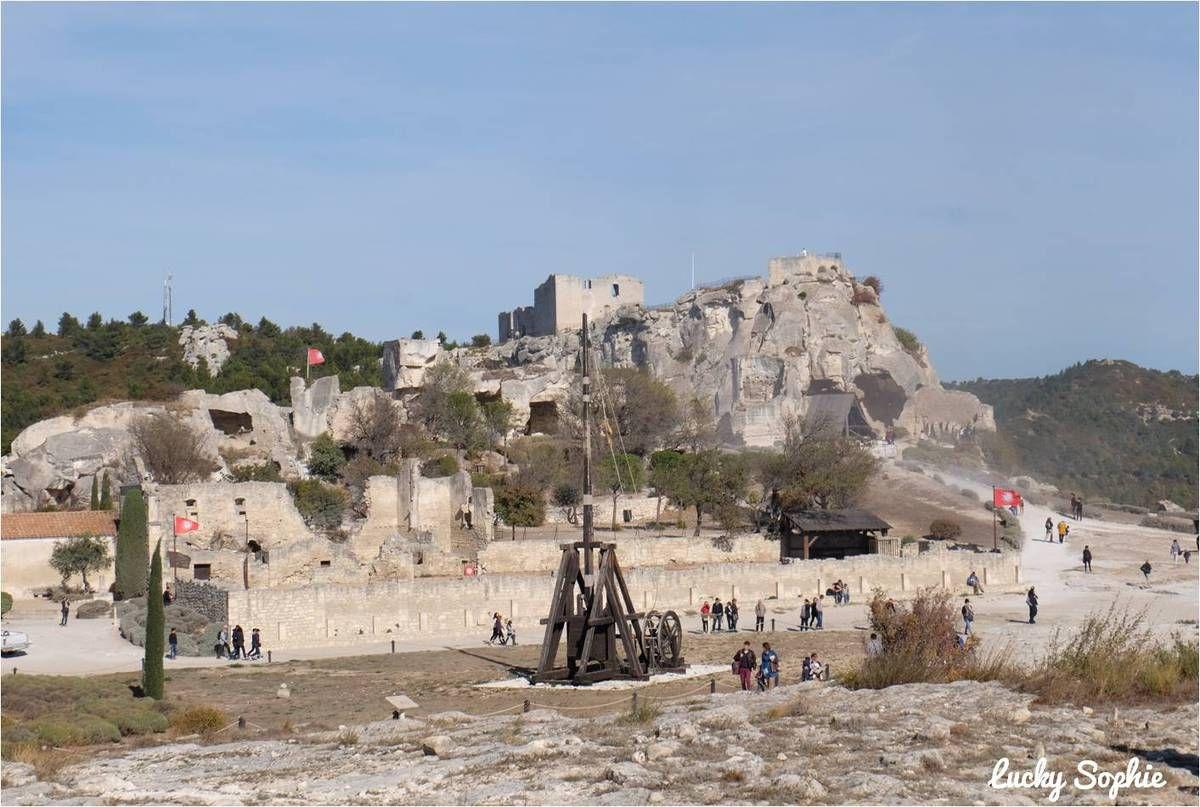 Automnales au château des Baux de Provence