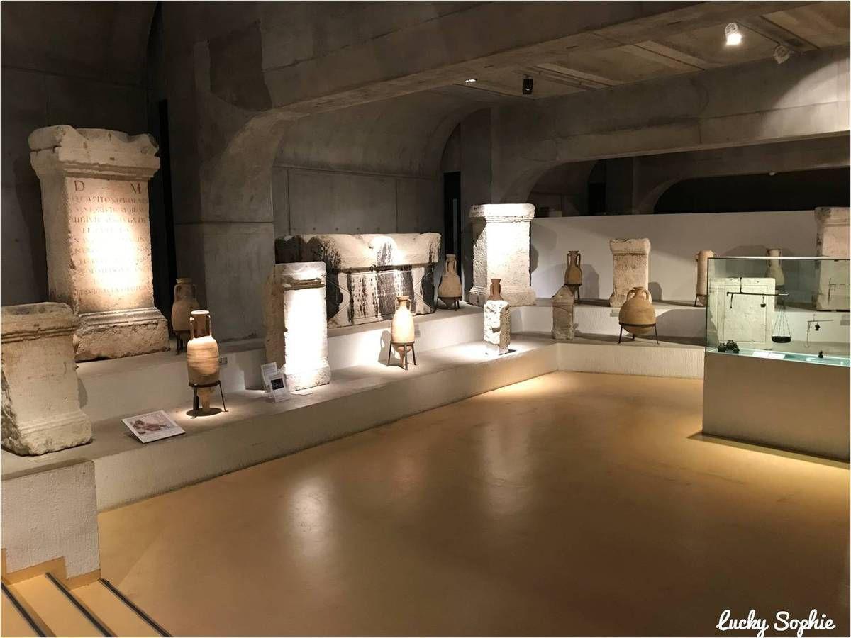 Espace enfants au musée gallo-romain de Lyon Fourvière