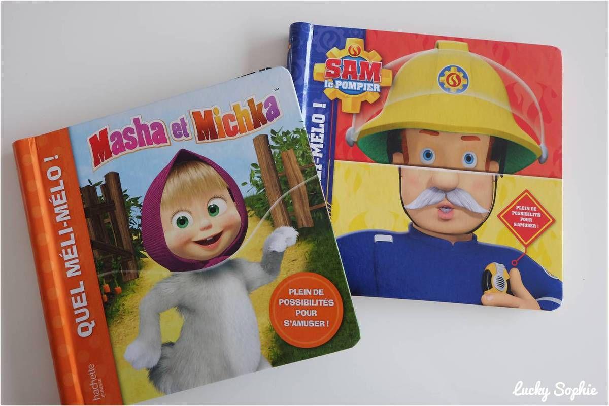 Des livres ludiques à deux volets, haut et bas, pour mélanger les personnages !