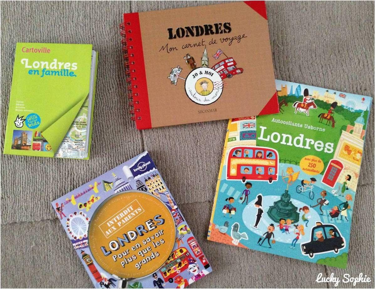 Guides de voyage pour enfants
