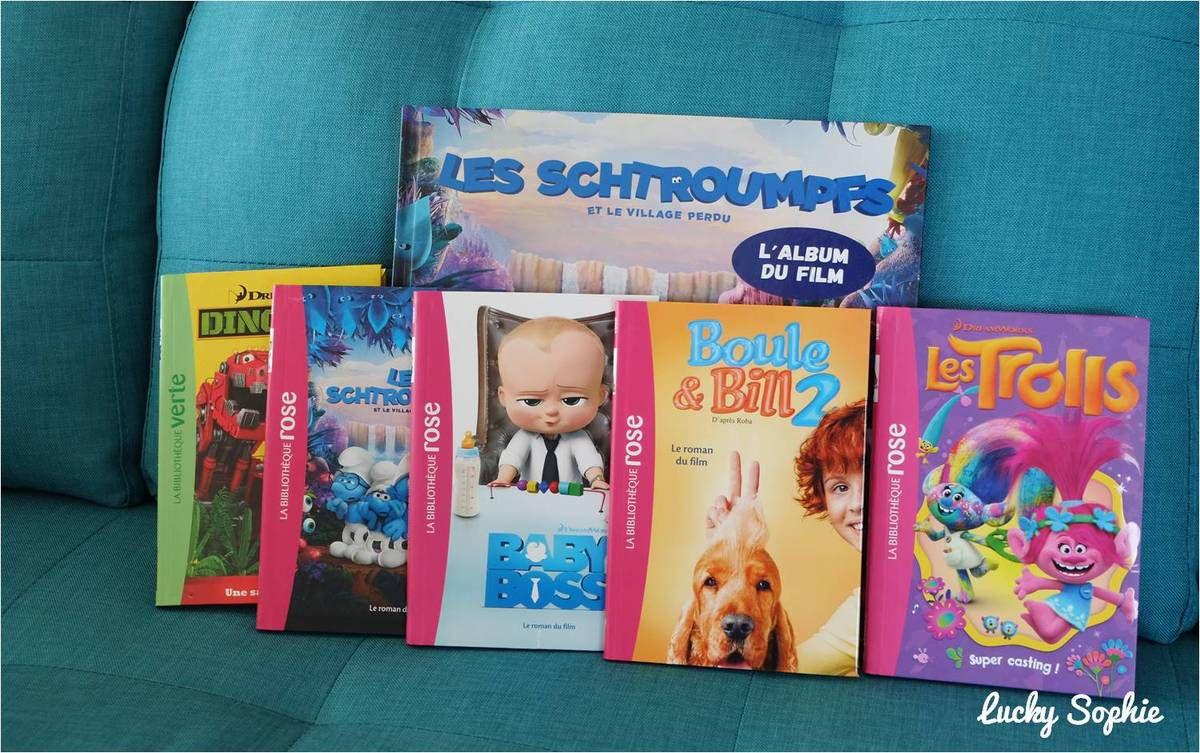 Les héros des écrans en livres ! #2