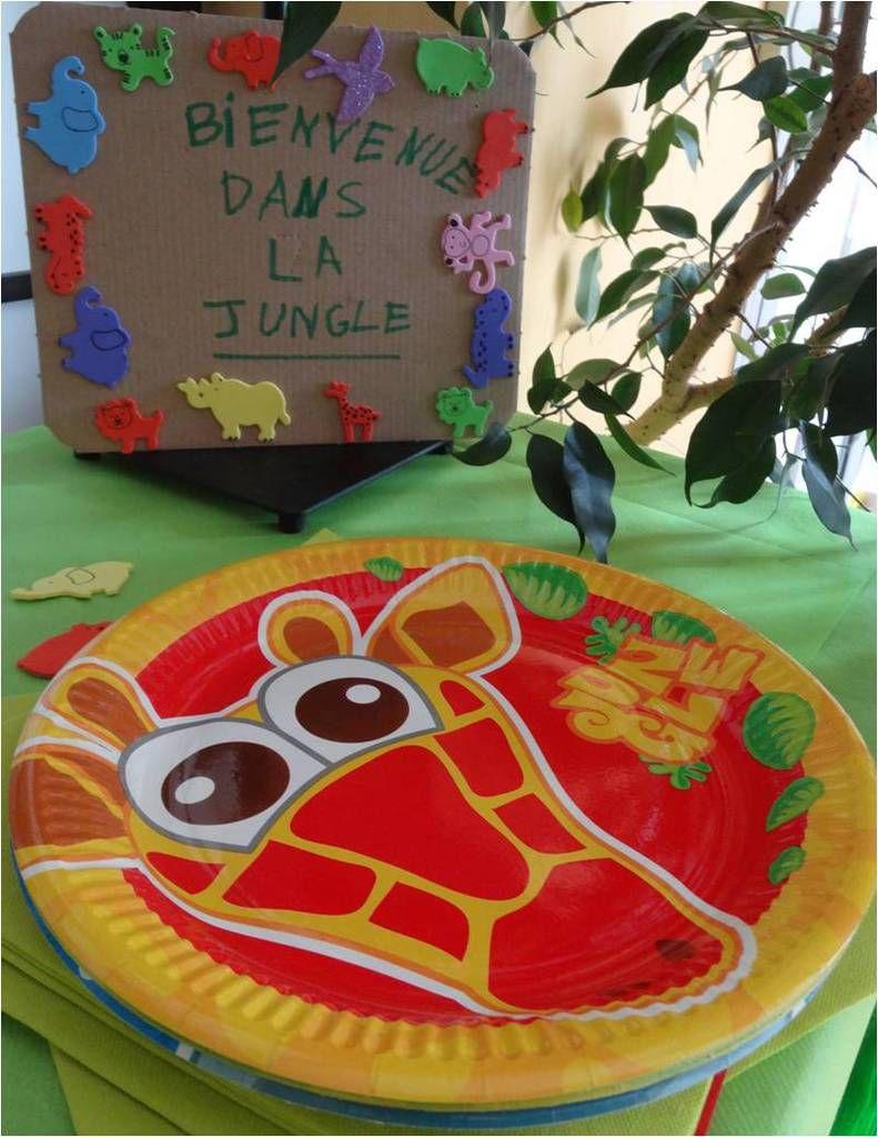 """Sa """"jungle party"""" des 3 ans : un anniversaire plein d'animaux !"""