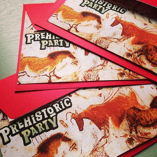 Prehistoric party : l'anniversaire des enfants préhistoriques !
