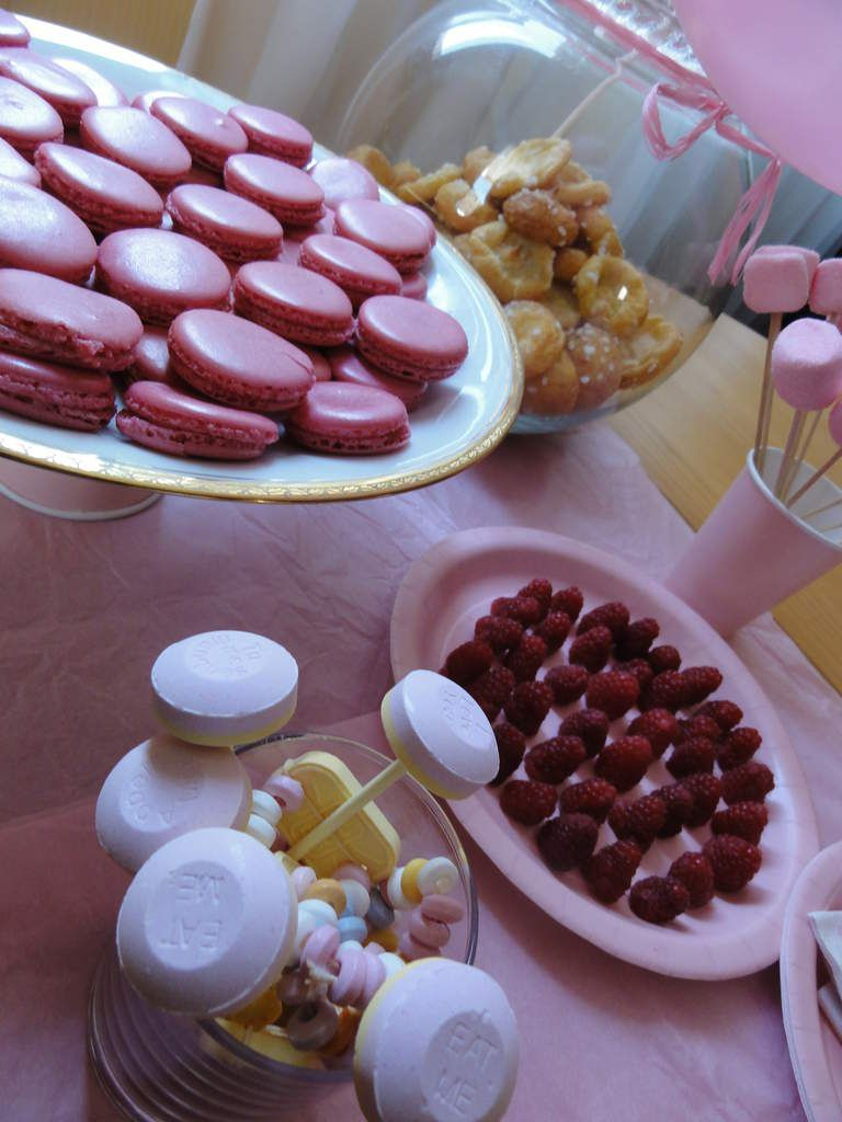 Sweet Table D Anniversaire Rose Idees Express Lucky Sophie Blog Famille Voyage