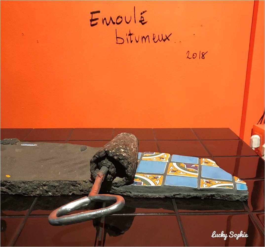 Ememem flacking, pansement urbain en carrelage - Street art