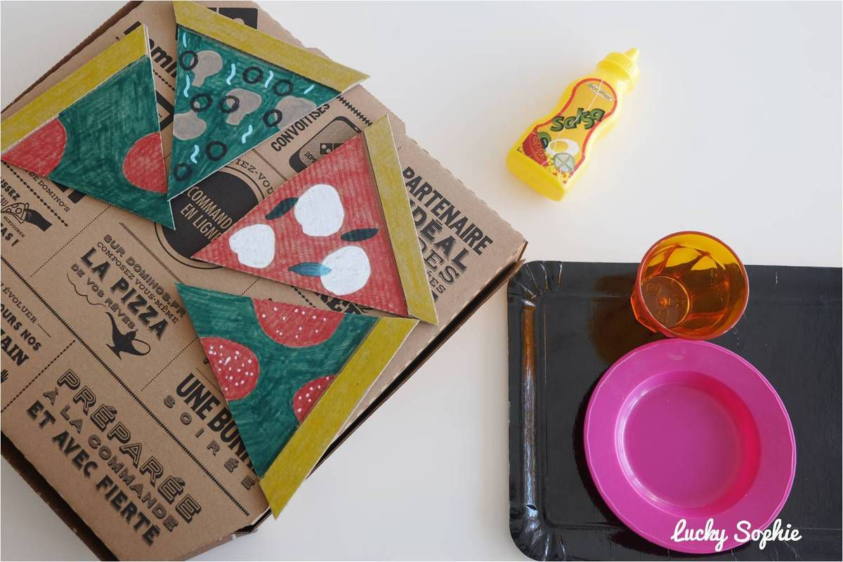 Et voici notre pizza en carton !