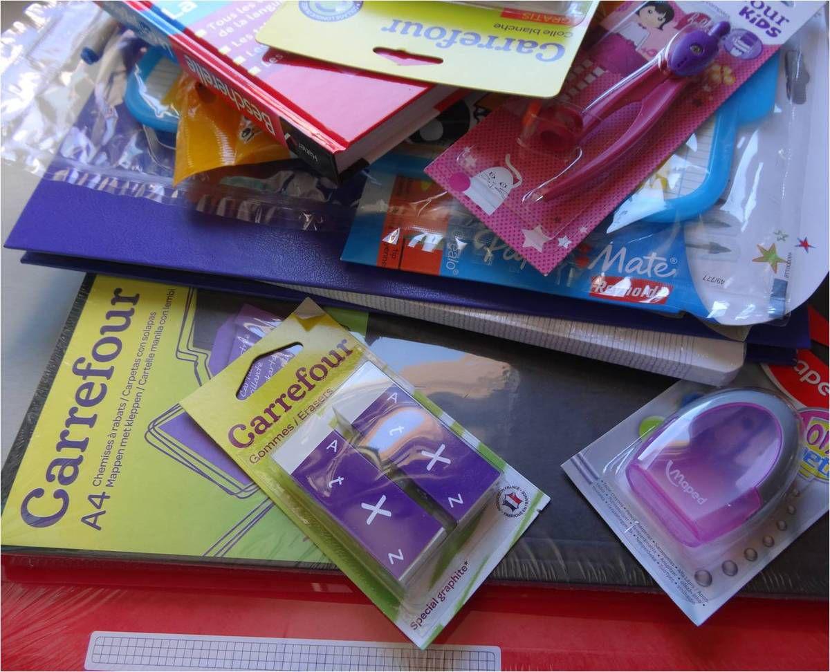 Le grand moment des fournitures scolaires (avec un fail de maman organisée)