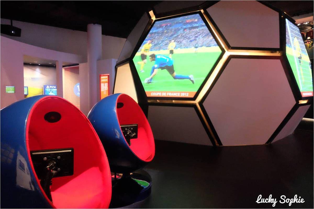 Le musée de l'OL au Groupama Stadium