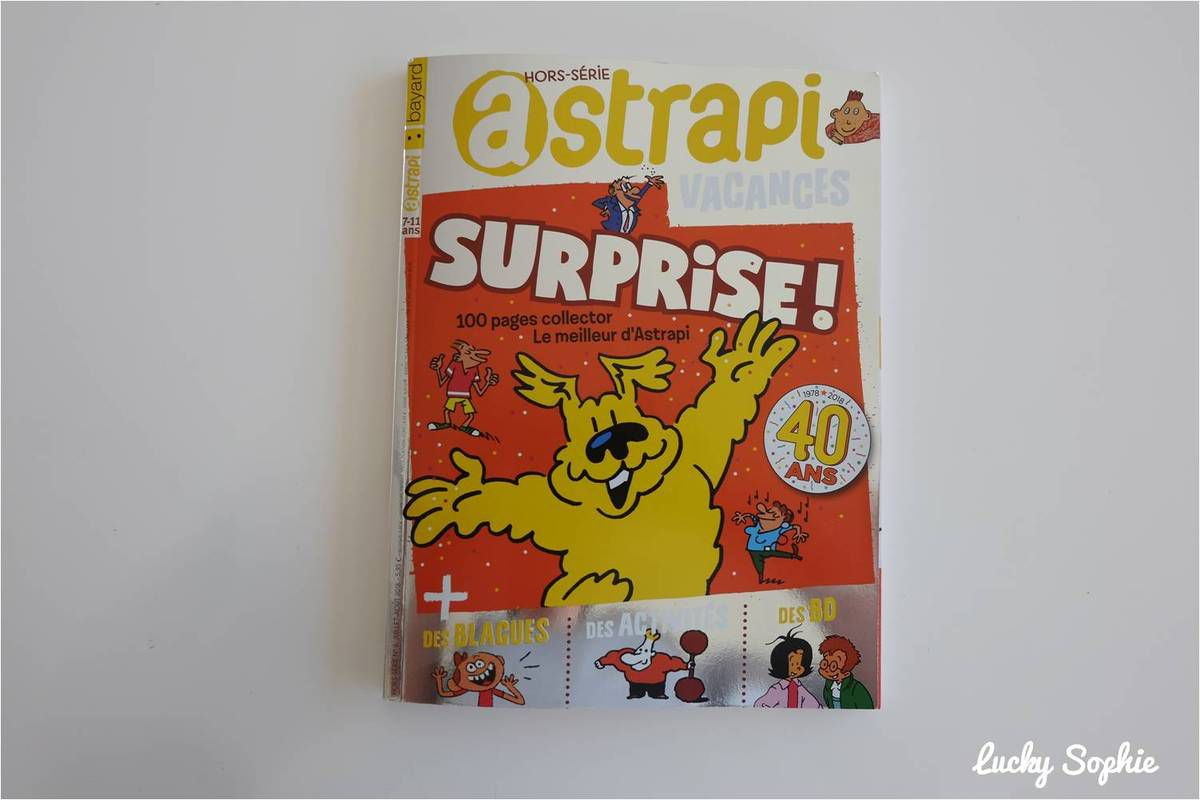 Des BD enfants pour l'été !