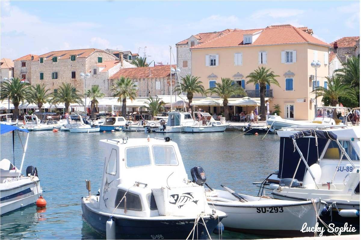 Supetar et l'île de Brac en Croatie