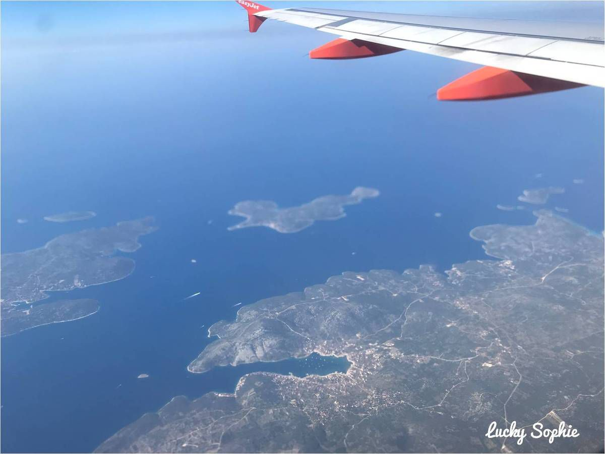 1h40 d'avion depuis Lyon et nous voilà arrivés sur la Côte Croate autour de Split.
