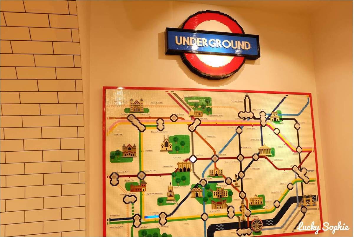 Lego store de Londres Leicester Square : génial !