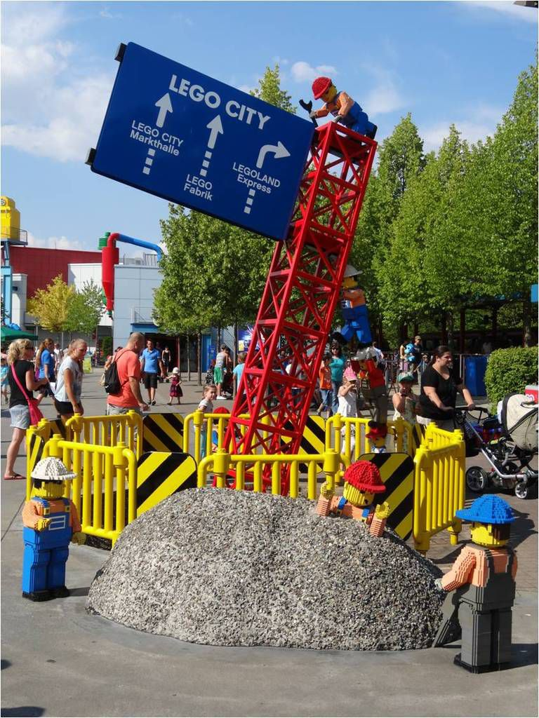 Legoland Deutschland : la petite brique a son parc d'attractions !