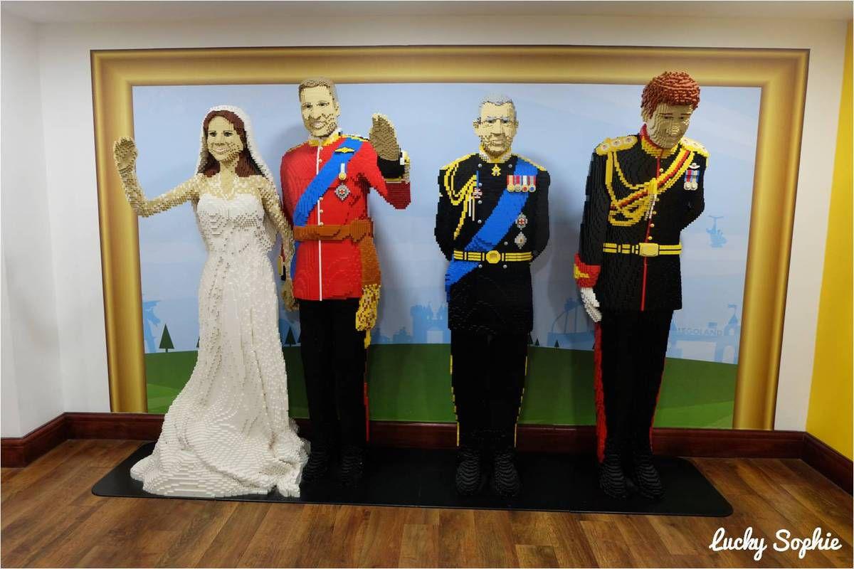 La famille royale pour nous accueillir !