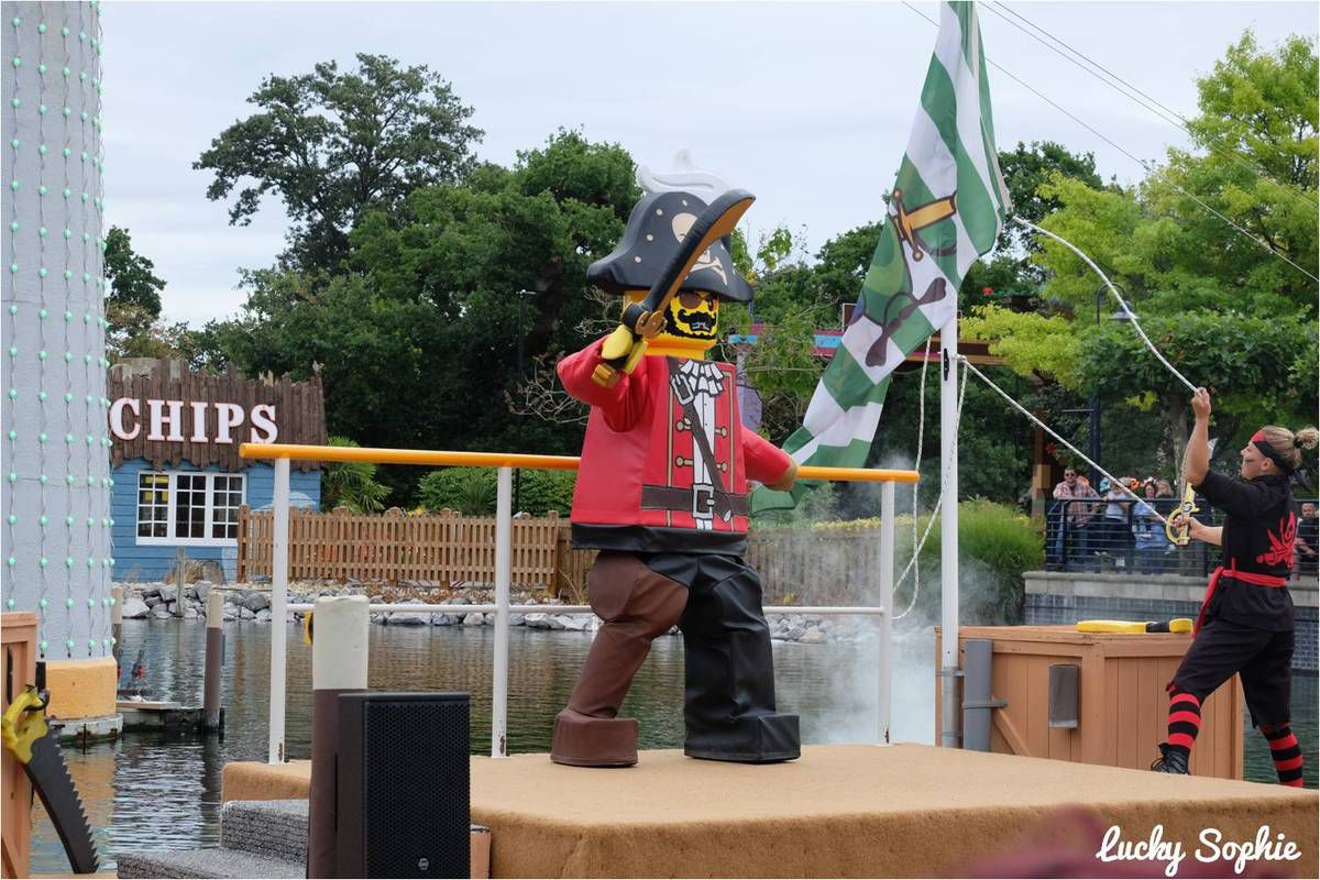 Le spectacle Lego Pirates
