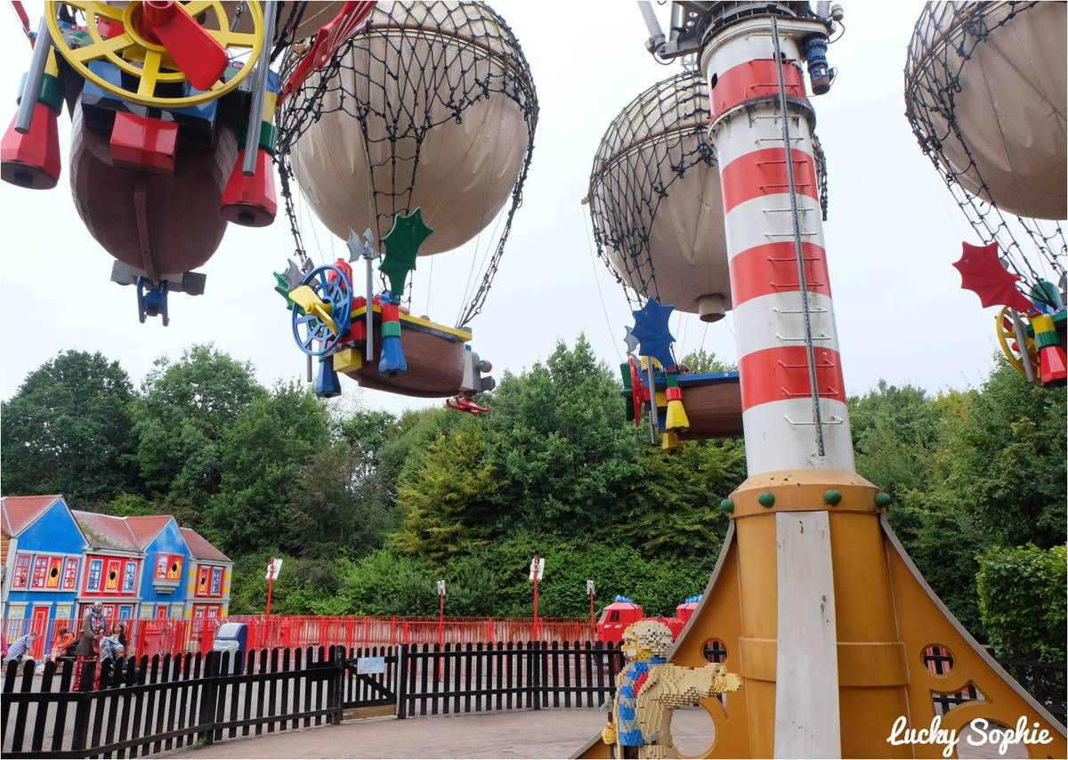 Legoland Windsor, le parc d'attractions des fans de Lego