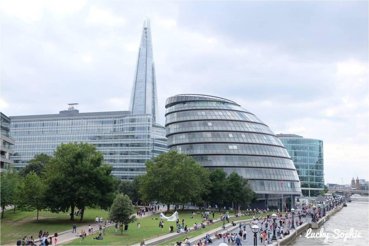 Le Shard et le City Hall de Londres
