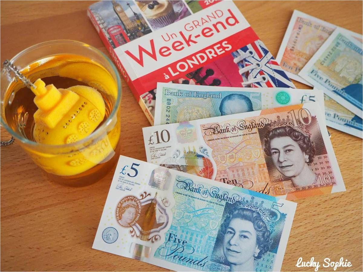 Fascination totale pour les nouveaux billets de £5 et £10 en plastique qui passent à la machine à laver (enfin, ça, on n'est pas obligé !).