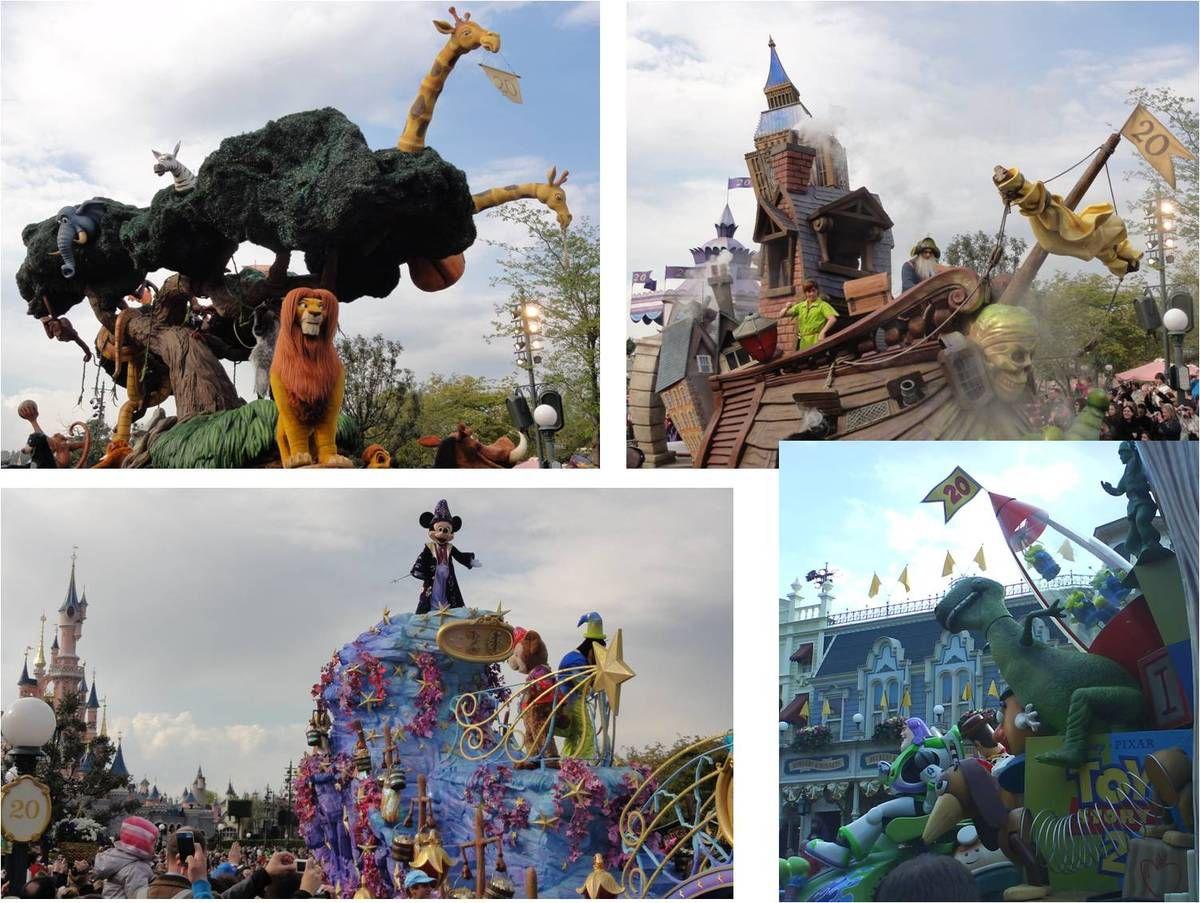20 ans Disneyland Paris, le 12 avril 2012