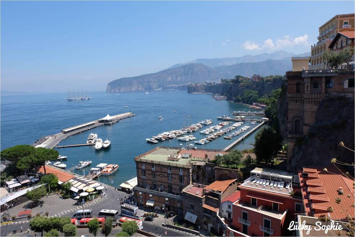 Naples et la côte amalfitaine en famille