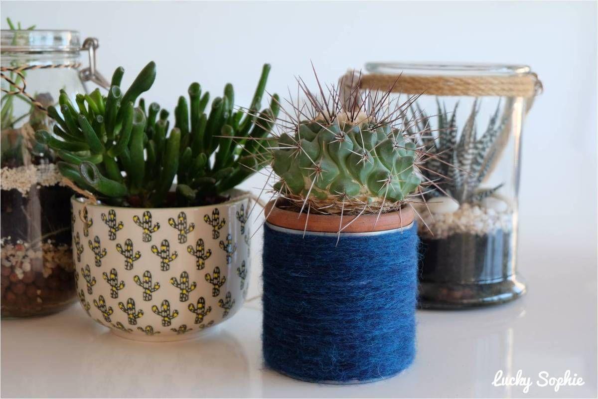 Pot à crayons en boîte de conserve et laine 🖋 DIY