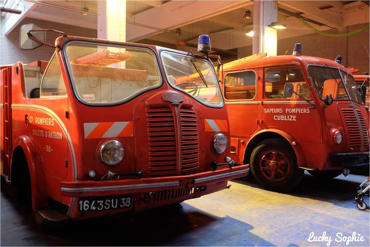 Réserves du musée des sapeurs-pompiers du Rhône