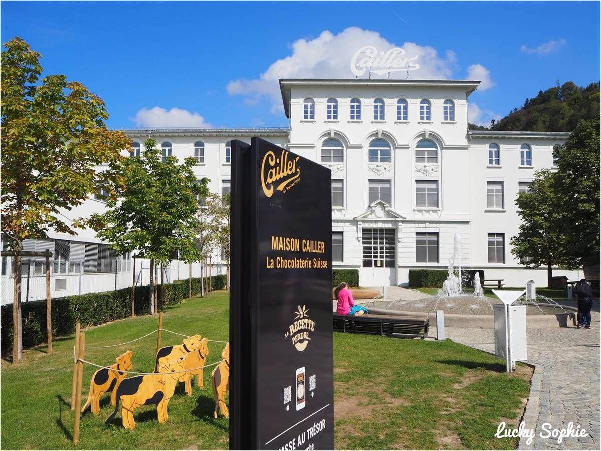 Visite de la Maison Cailler, irrésistible chocolaterie suisse