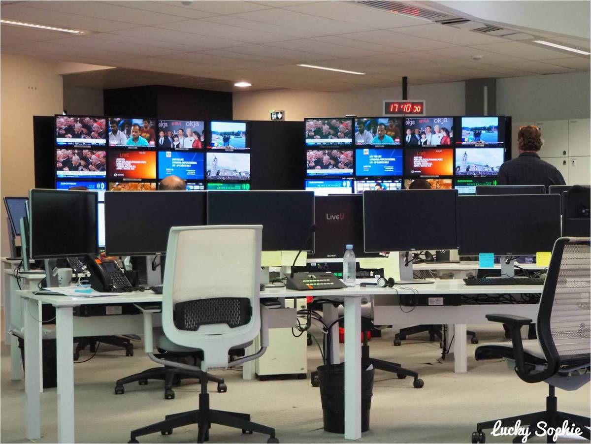 Visite d'Euronews à Lyon Confluence