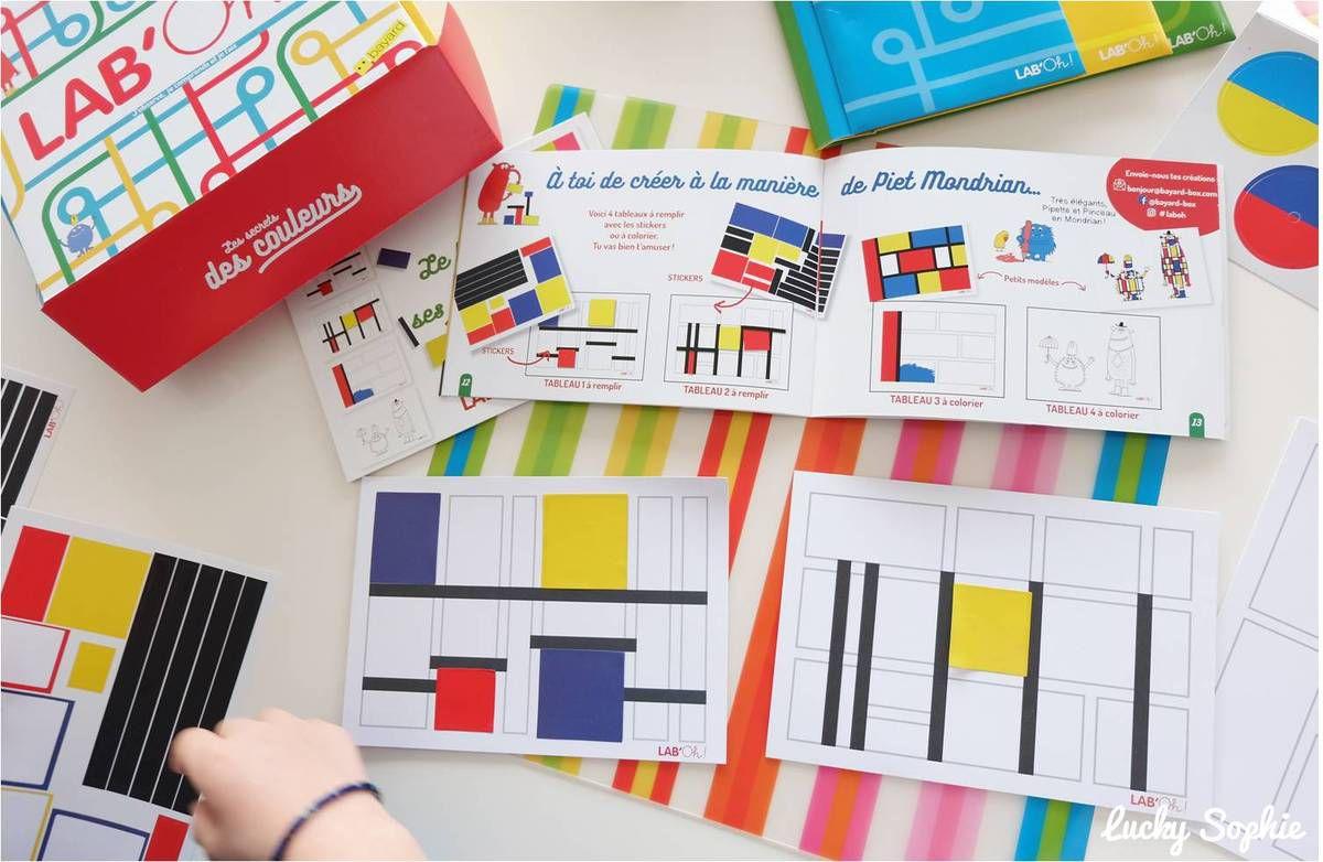 Créer des tableaux à la manière de Mondrian