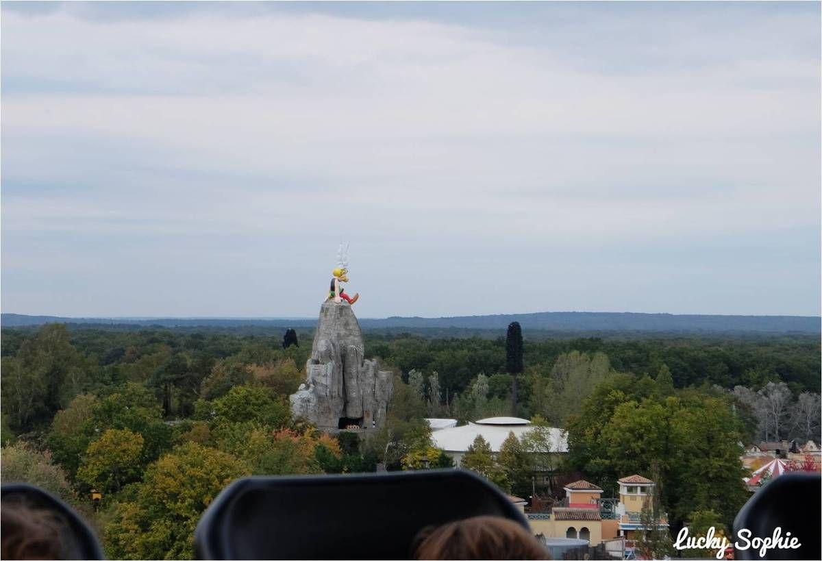 Aérolaf et peur sur le Parc Astérix