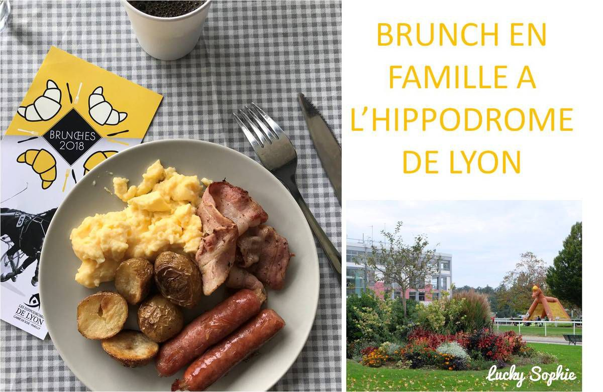 Brunch kids friendly à l'hippodrome de Lyon !