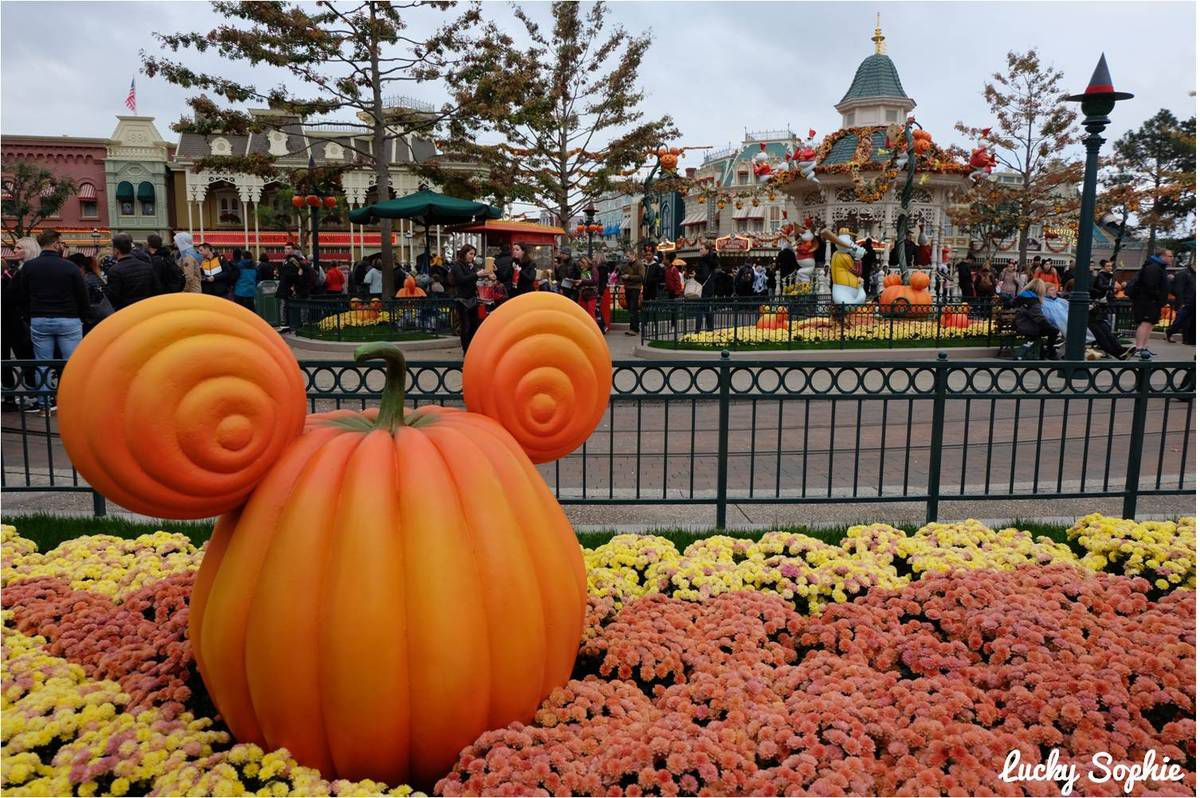 Disneyland Paris à Halloween