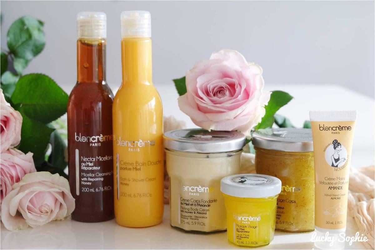 Blancrème, l'épicerie fine cosmétique miel et amandes