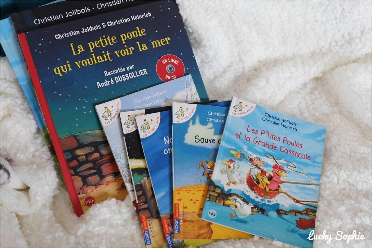 Coup de coeur pour les P'tites Poules en livre CD