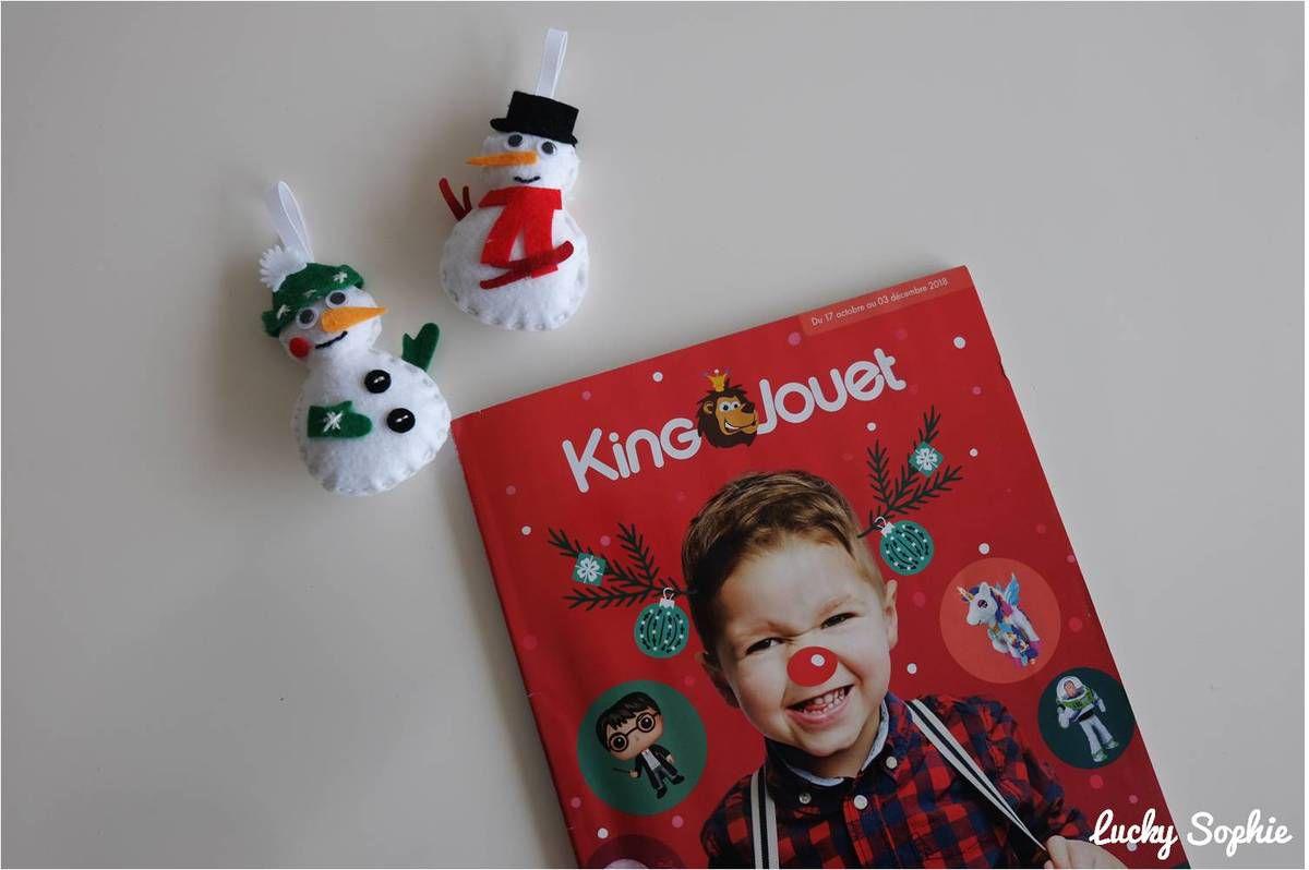 Dans ce catalogue King Jouet, vous pourrez retrouver mes petits conseils dans les rubriques Créer, Partager et Imaginer !
