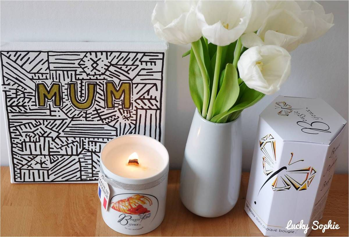Allumer une bougie parfumée pour une ambiance réconfortante !