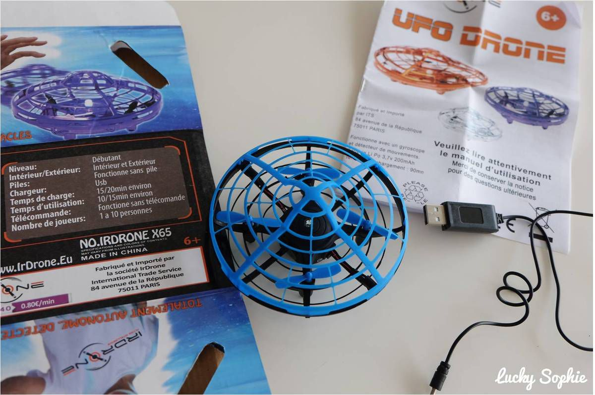 Ufo drone d'Irdrone : magique !