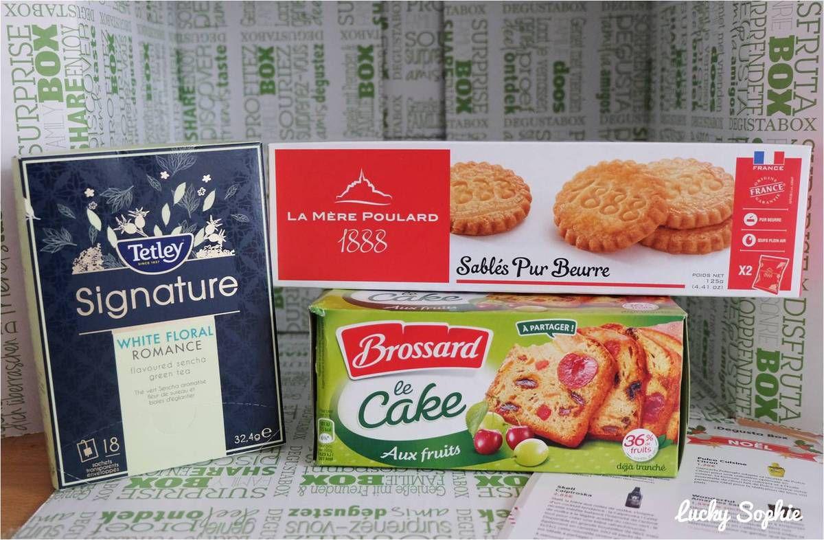 Petites découvertes culinaires avec la Degustabox