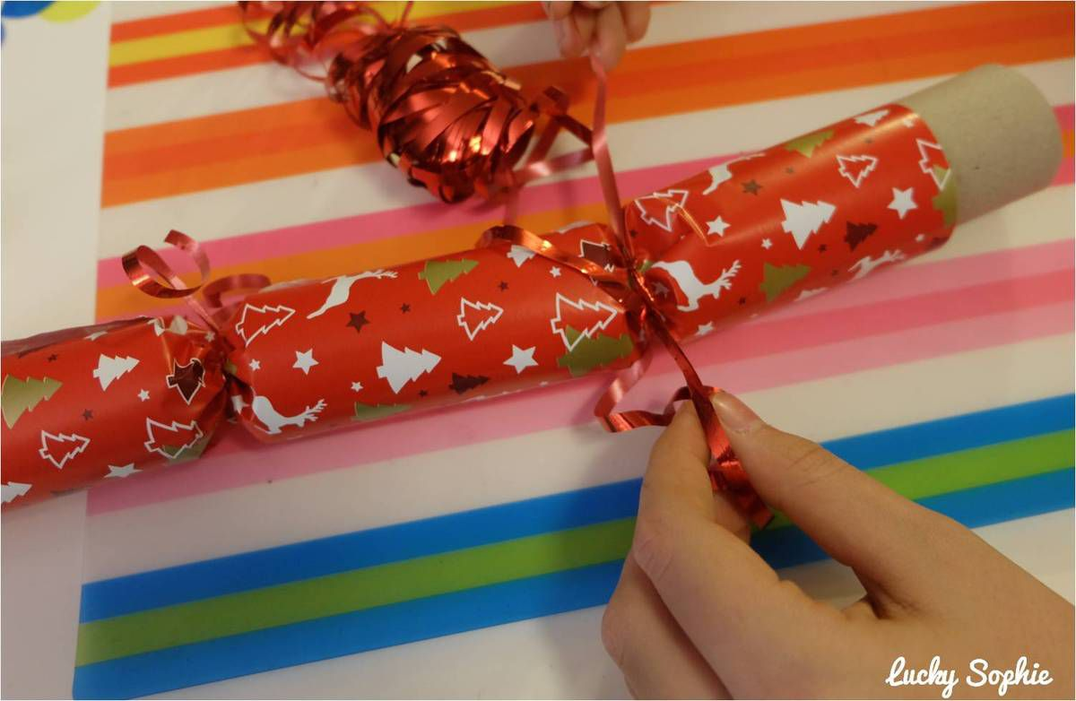 Crackers de Noël DIY enfants