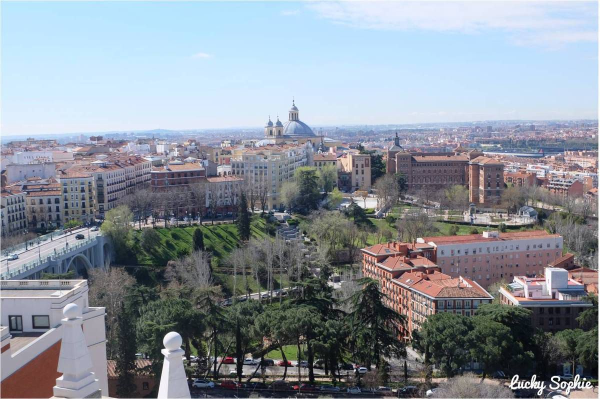 Les plus belles vues de Madrid