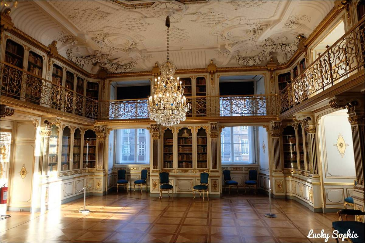 La bibliothèque de la Reine, un endroit tellement agréable !