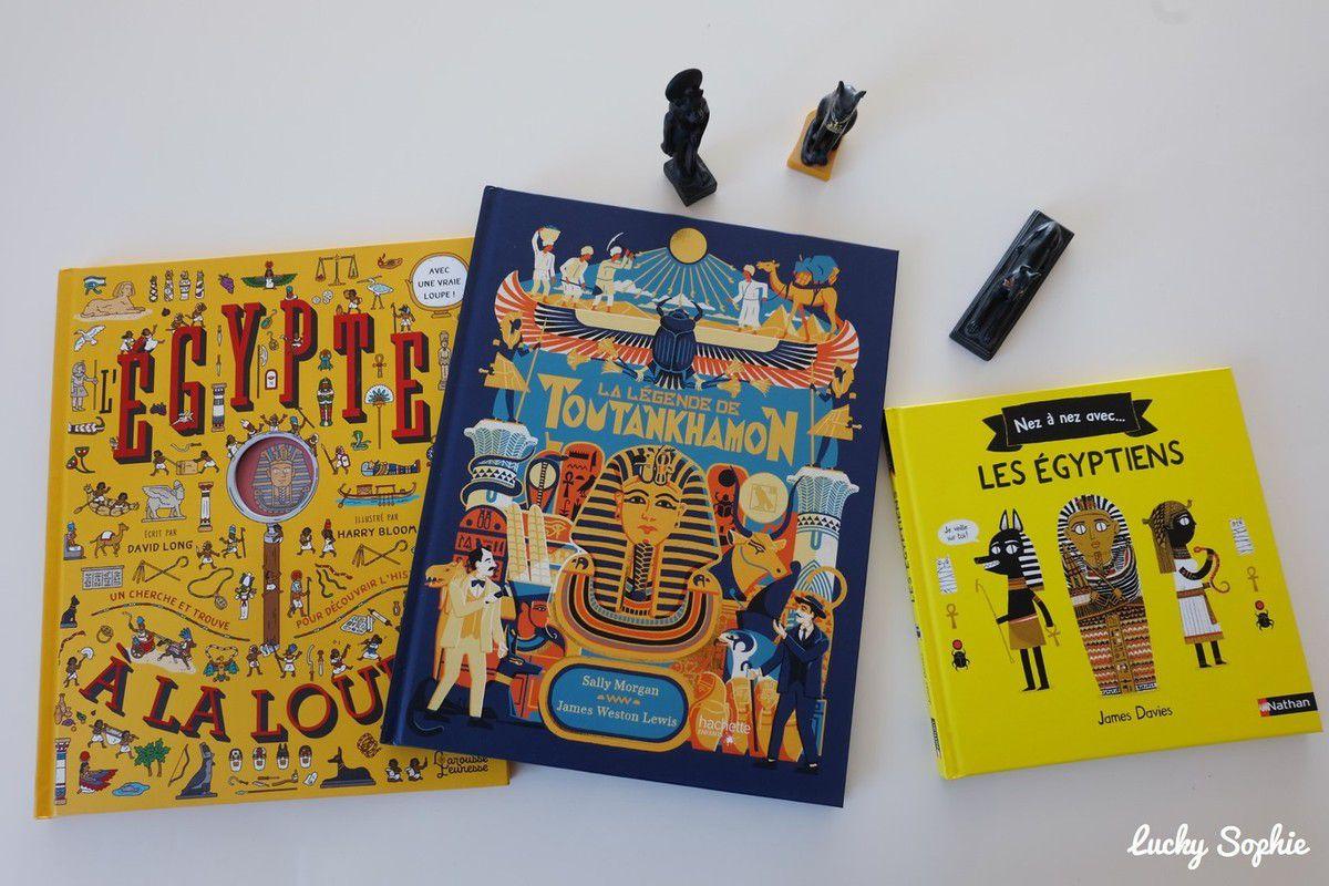 La légende de Toutankhamon, livres enfants