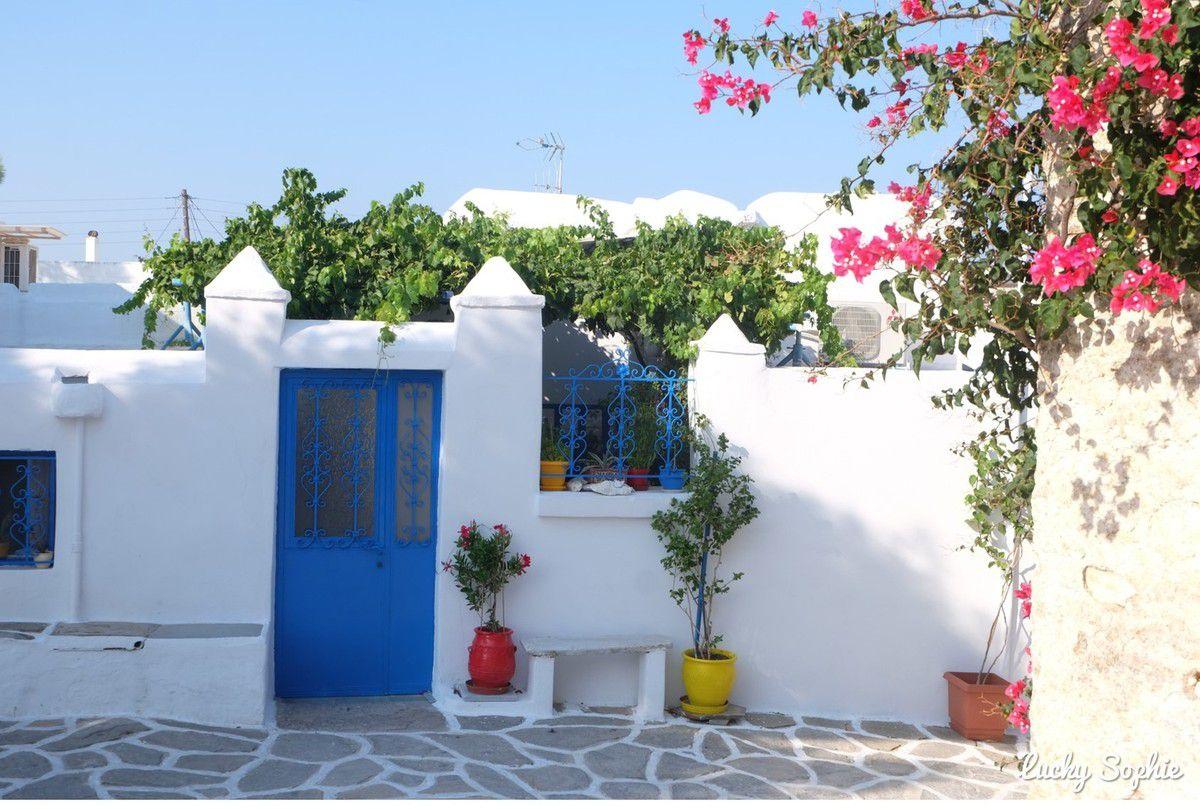 Visiter Paros en famille