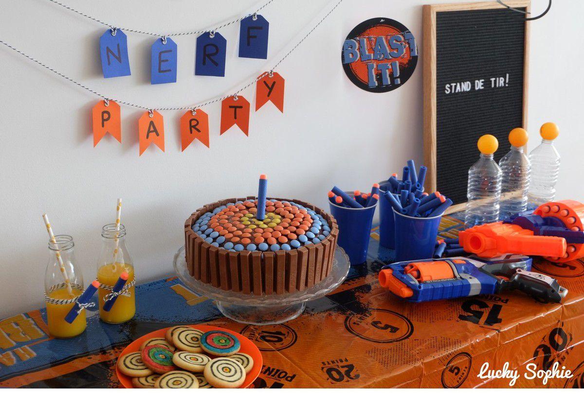 Fête d'anniversaire Nerf