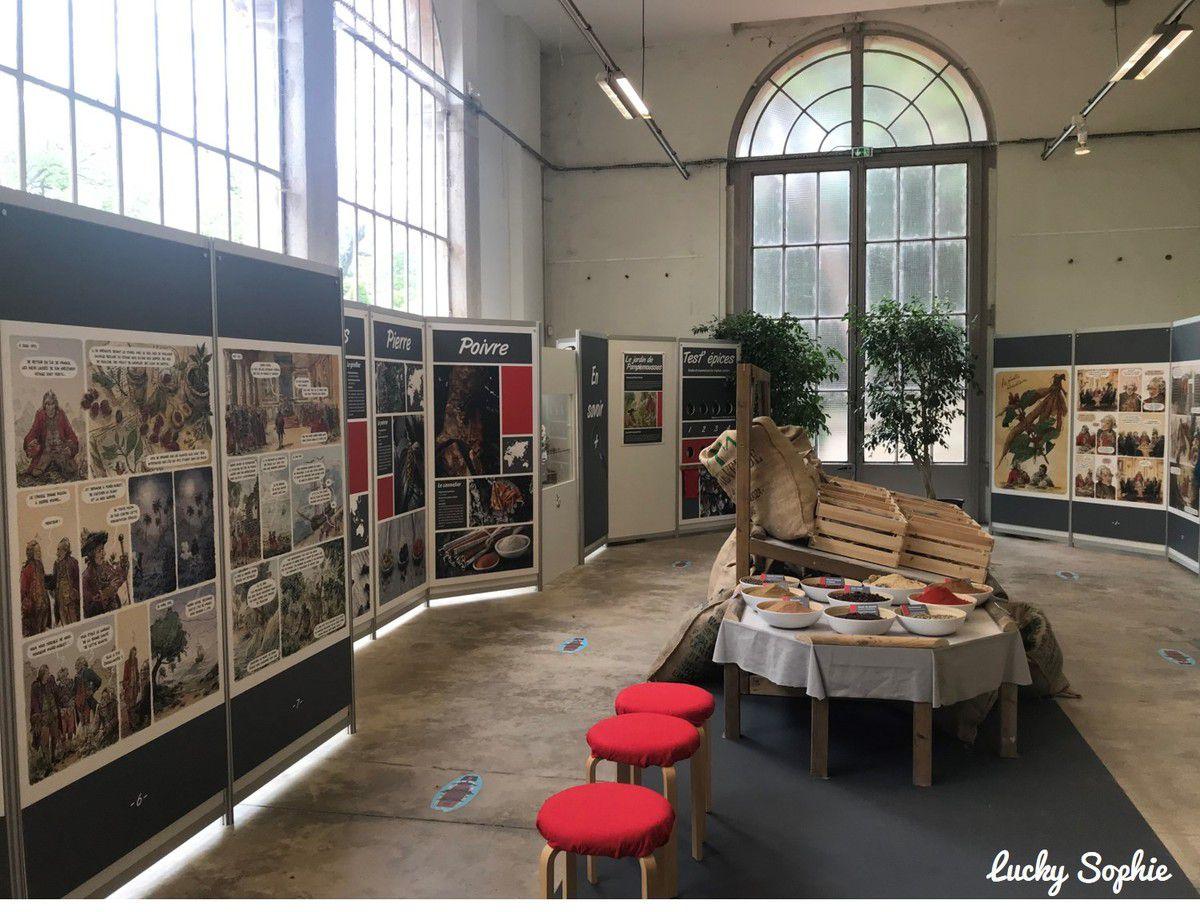 Pierre Poivre, expo BD au Parc Tête d'Or
