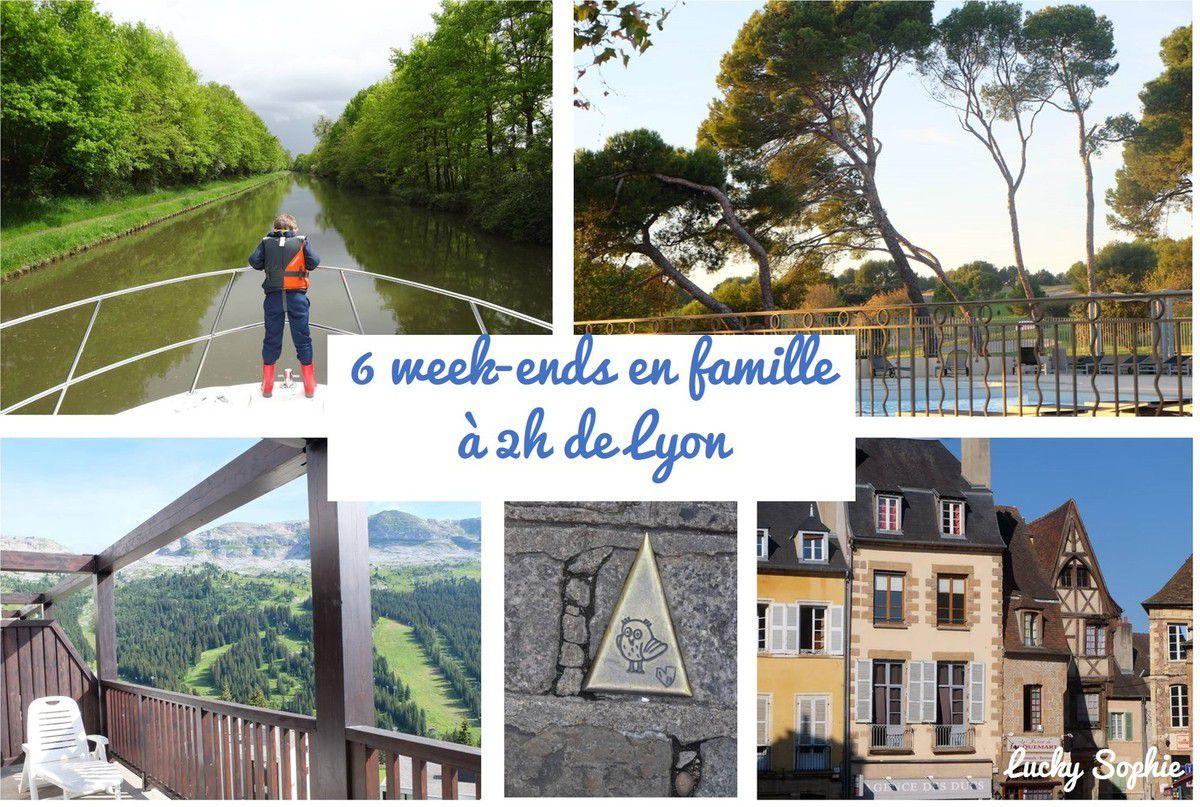 Week-end en famille à 2h de Lyon
