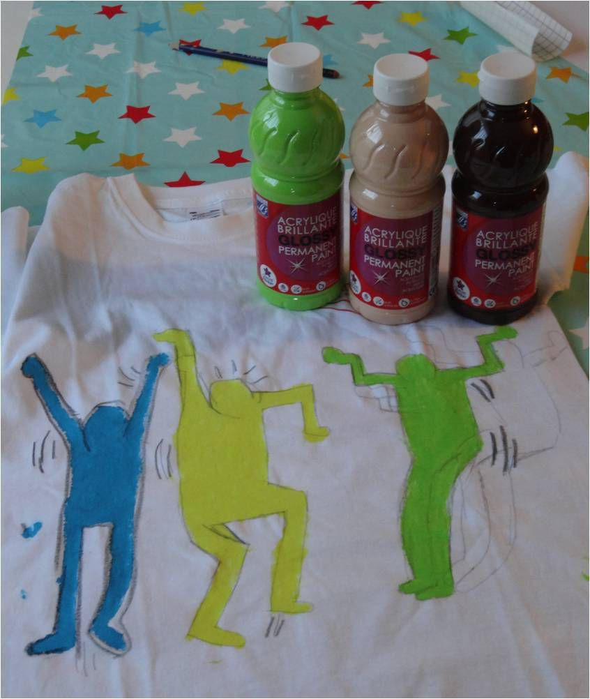 Activité enfants : la peinture textile, trucs et astuces !